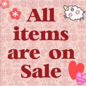 Come visit my closet b/c all items are on sale!!